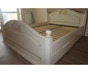 АФРОДИТА - кровать из дуба ТМ ARTmebli (Украина)