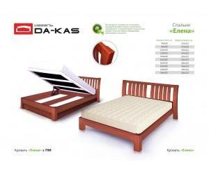 ЕЛЕНА - кровать ТМ DA-KAS
