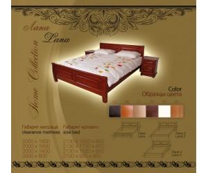 ЛАНА - кровать ТМ ТЕМП (Украина)