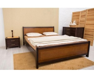 СИТИ с интарсией - кровать ТМ ОЛИМП фото