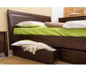 СИТИ с филенкой и ящиками - кровать ТМ ОЛИМП