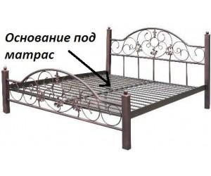 ЛУИЗА - металлическая кровать ТМ МЕТАЛЛ-ДИЗАЙН