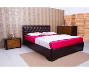 МИЛЕНА мягкая спинка (ромбы) - кровать ТМ ОЛИМП фото