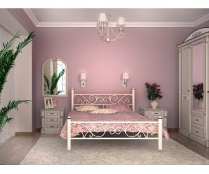 ГЛОРИЯ - металлическая кровать ТМ SKAMYA (Украина) фото