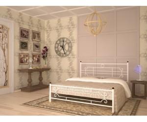 ВИНТАЖ (круглые ноги) - металлическая кровать ТМ SKAMYA