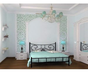 ЮВЕНТА - металлическая кровать ТМ SKAMYA фото