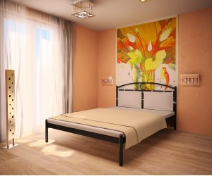 INGA - металлическая кровать ТМ МЕТАКАМ фото