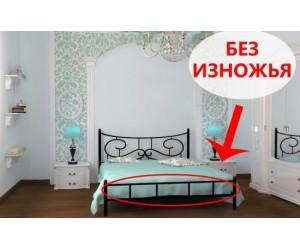 ЮВЕНТА без изножья - металлическая кровать ТМ SKAMYA