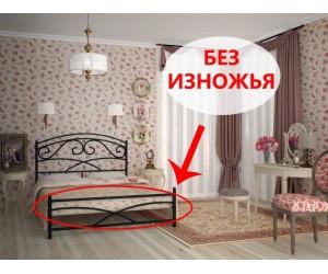 ЛЕЙЛА без изножья - металлическая кровать ТМ SKAMYA