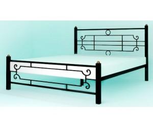 ВИНТАЖ (квадратные ноги) - металлическая кровать ТМ SKAMYA