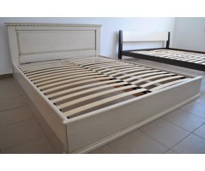 ЭЛИТ - кровать из дуба ТМ ARTmebli (Украина)