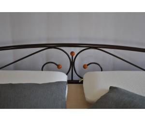 VERONA-1 - металлическая кровать ТМ МЕТАКАМ