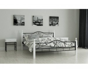 Мадера - металлическая кровать ТМ Madera (Укрвина) фото