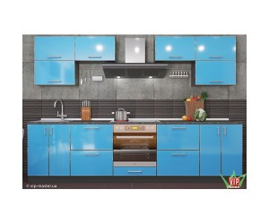 MIRROR GLOSS - кухня TM VIP MASTER