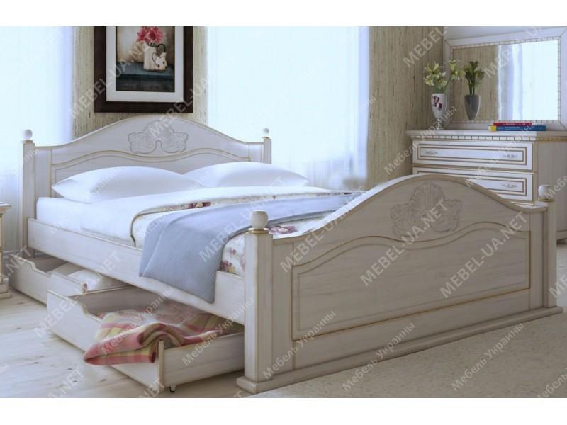 АФРОДИТА - кровать из дуба ТМ ARTmebli (Украина) фото