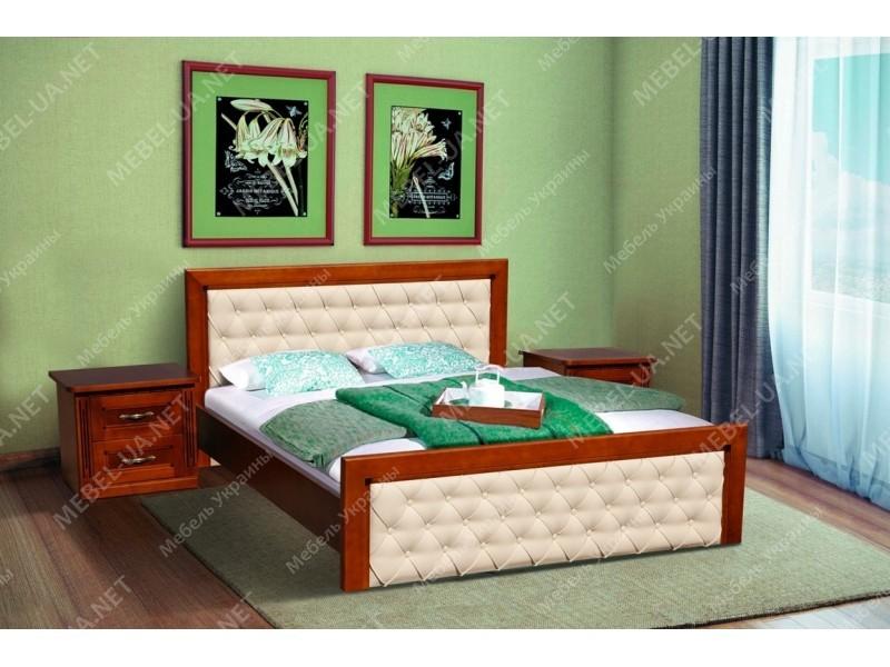 ФРИДОМ (ольха) - кровать ТМ МИКС-МЕБЕЛЬ (Украина) фото