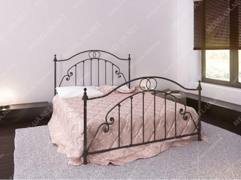 ФЛОРЕНЦИЯ - металлическая кровать ТМ BELLA LETTO фото
