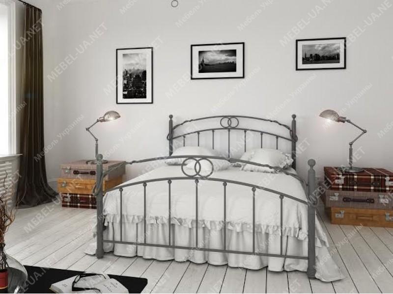 ТОСКАНА - металлическая кровать ТМ BELLA LETTO фото
