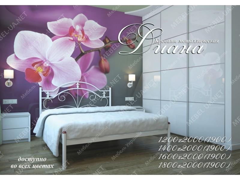ДИАНА - металлическая кровать ТМ МЕТАЛЛ-ДИЗАЙН фото