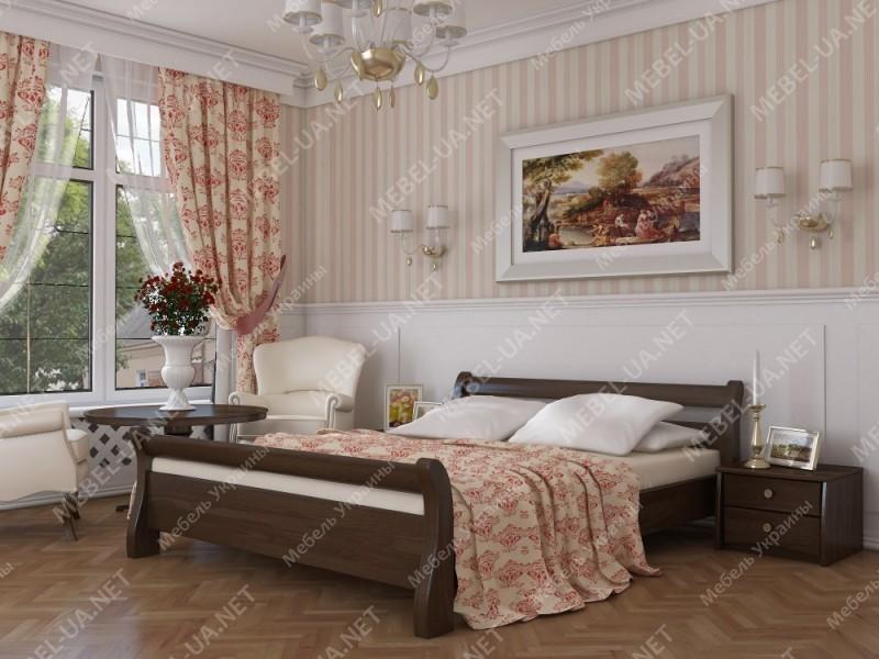 ДИАНА - кровать из бука ТМ ЭСТЕЛЛА фото