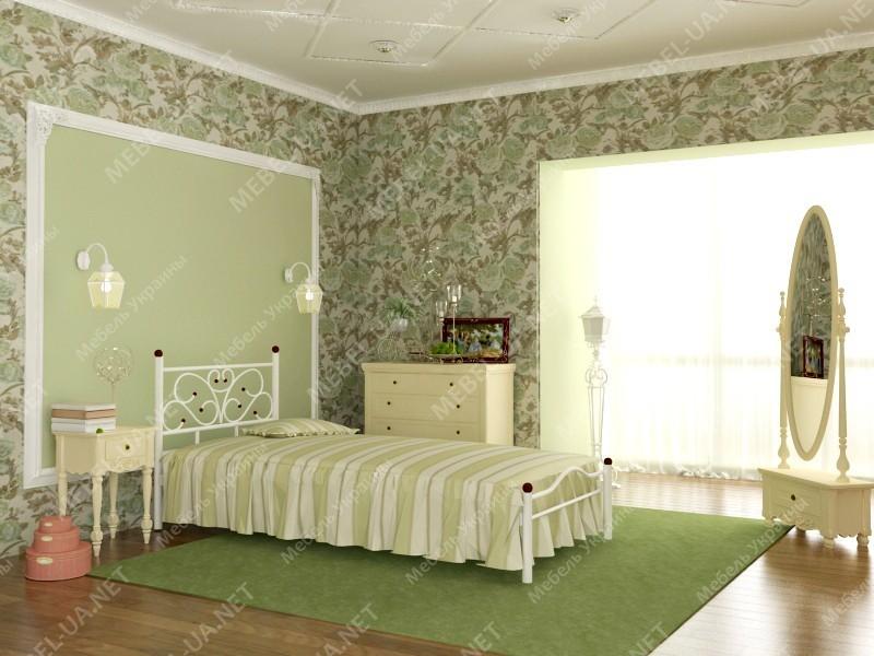 ЭРИКА - металлическая кровать ТМ SKAMYA фото