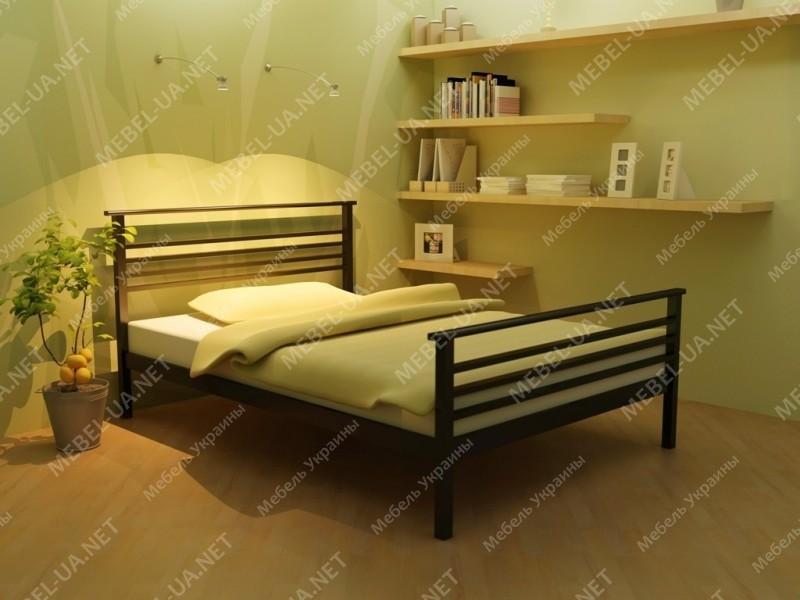 LEX-2 - металлическая кровать ТМ МЕТАКАМ фото