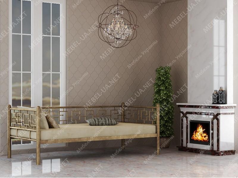 ЭВРИДИКА - металлическая кровать ТМ SKAMYA фото