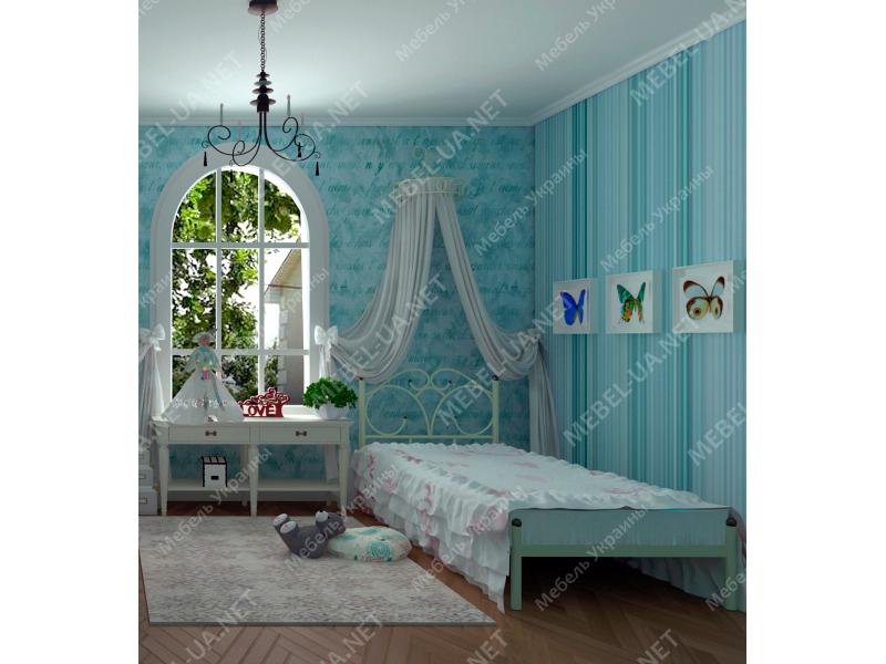 КАРОЛИНА - металлическая кровать ТМ SKAMYA фото