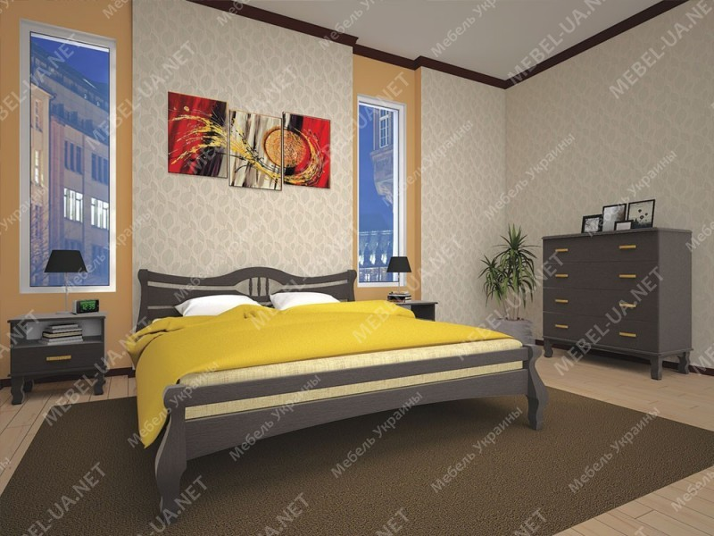 КОРОНА 1 - кровать ТМ ТИС (Украина) фото