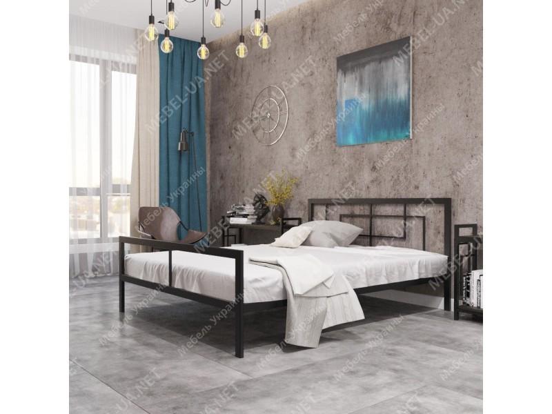 КВАДРО - металлическая кровать ТМ МЕТАЛЛ-ДИЗАЙН фото