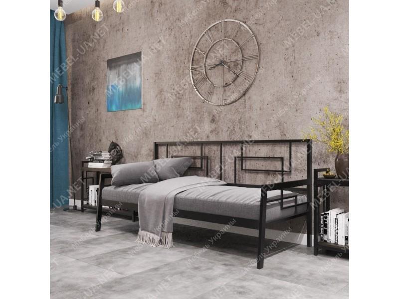 КВАДРО СОФА - металлический диван-кровать ТМ МЕТАЛЛ-ДИЗАЙН фото