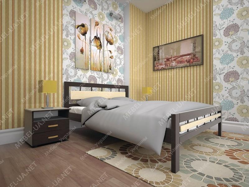 МОДЕРН 3 - кровать ТМ ТИС (Украина) фото