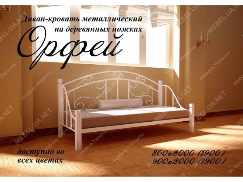 ОРФЕЙ - металлическая кровать ТМ МЕТАЛЛ-ДИЗАЙН фото