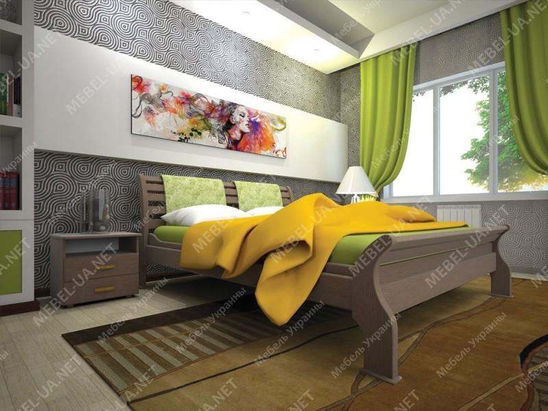 РЕТРО 2 - кровать ТМ ТИС (Украина) фото