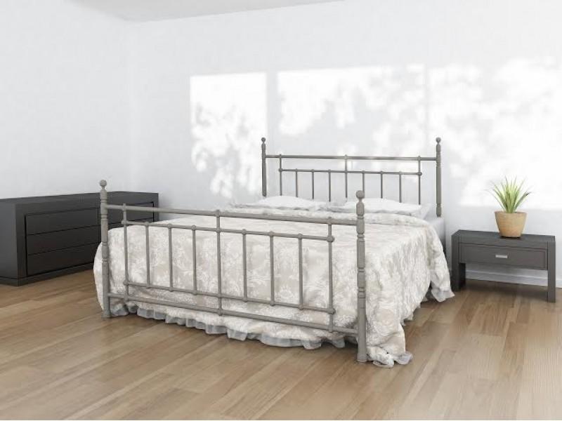 НЕАПОЛЬ - металлическая кровать ТМ BELLA LETTO фото
