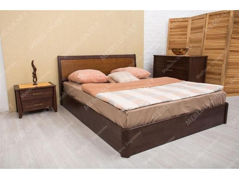 СИТИ с интарсией с подъемной рамой - кровать ТМ ОЛИМП фото