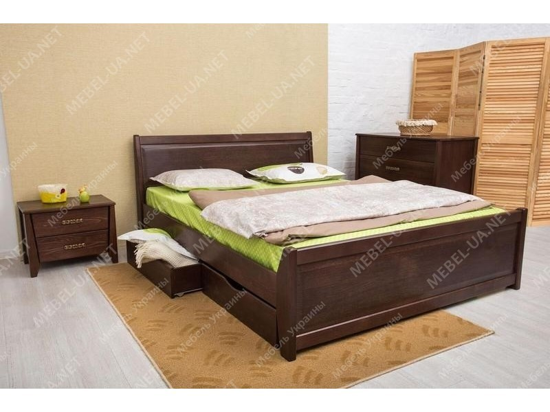 СИТИ с филенкой и ящиками - кровать ТМ ОЛИМП фото
