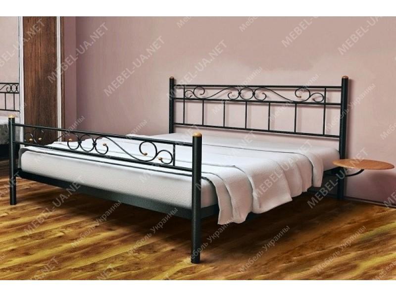 ЭСМЕРАЛЬДА-2 - металлическая кровать ТМ МЕТАКАМ фото