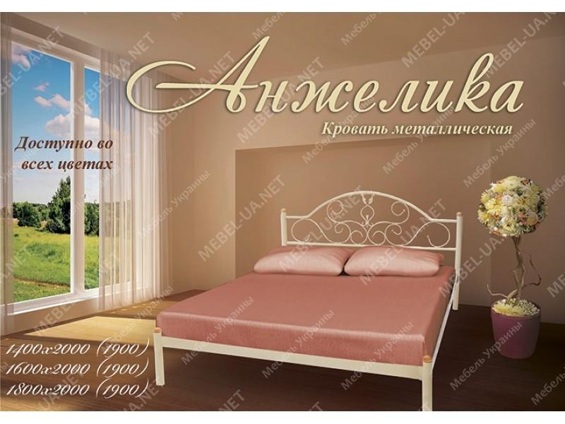 АНЖЕЛИКА - металлическая кровать ТМ МЕТАЛЛ-ДИЗАЙН фото