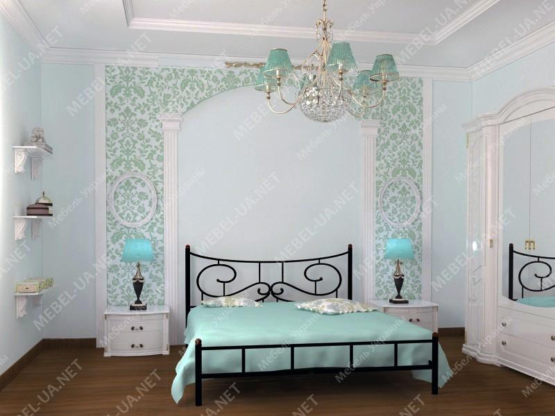 ЮВЕНТА без изножья - металлическая кровать ТМ SKAMYA фото