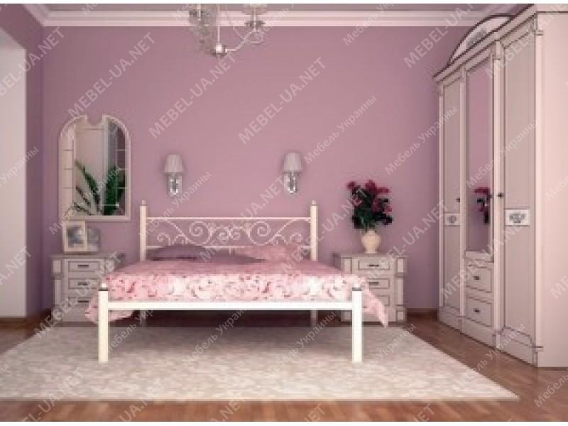 ГЛОРИЯ без изножья - металлическая кровать ТМ SKAMYA фото
