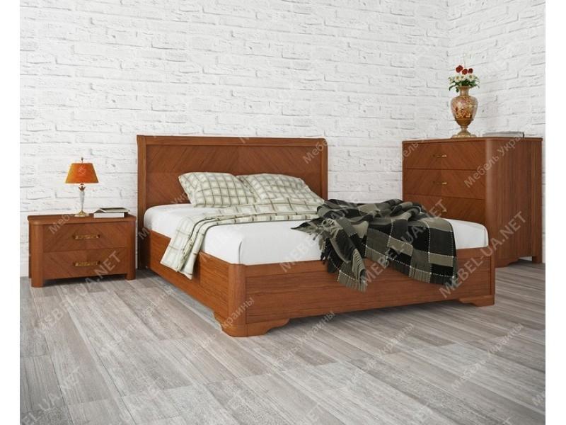 МИЛЕНА (с интарсией) - кровать ТМ ОЛИМП фото
