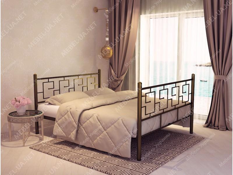 ЭЛЛАДА - металлическая кровать ТМ SKAMYA фото