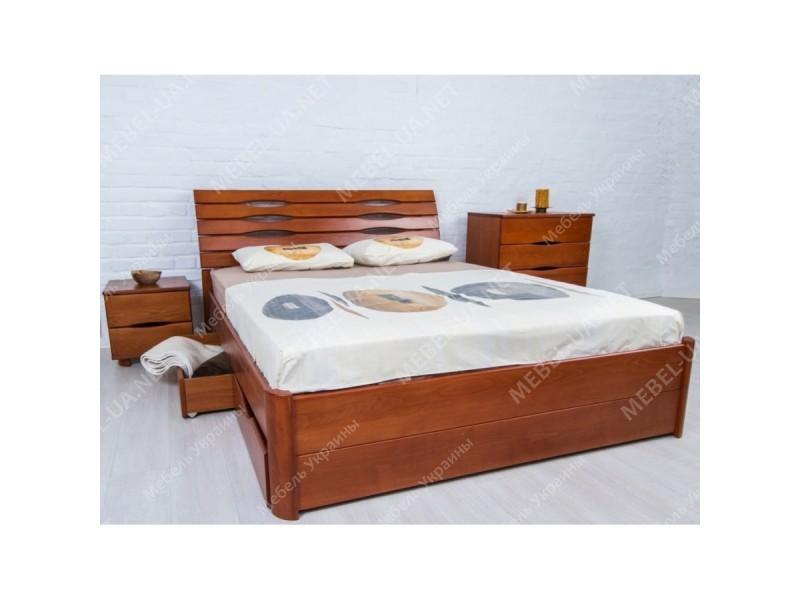 МАРИТА ЛЮКС с ящиками - кровать ТМ ОЛИМП фото