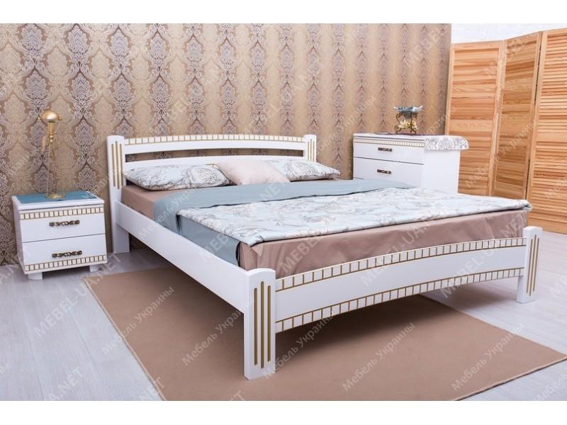 МИЛАНА ЛЮКС с фрезеровкой - кровать ТМ ОЛИМП фото