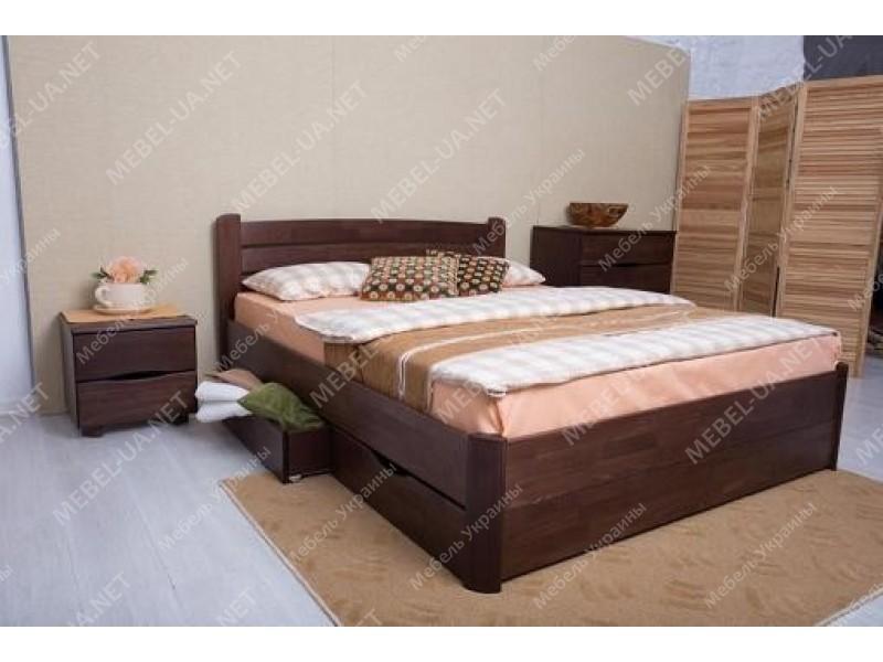 СОФИЯ (бук) - кровать с ящиками ТМ МИКС-МЕБЕЛЬ (Украина) фото