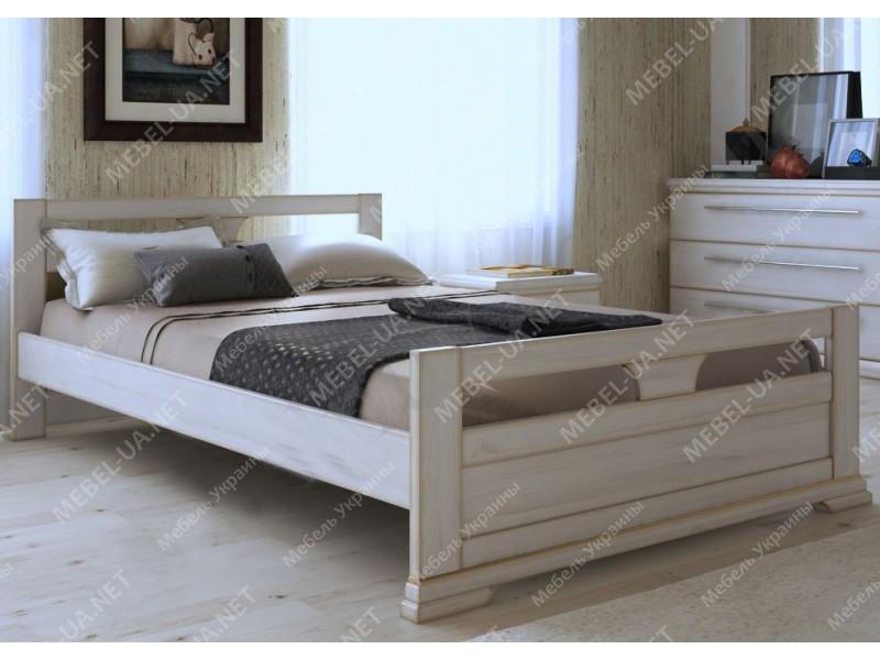 МОДЕРН - кровать из дуба ТМ ARTmebli (Украина) фото