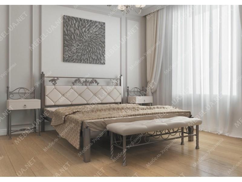 СТЕЛЛА - металлическая кровать ТМ Металл-Дизайн фото