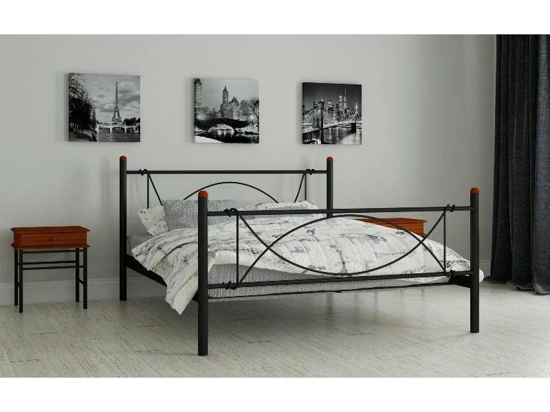 Роуз - металлическая кровать ТМ Madera (Украина) фото